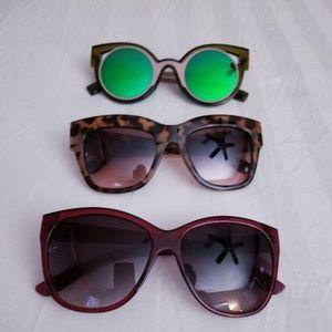 Three Gorgeous Pair of Sunglasses!